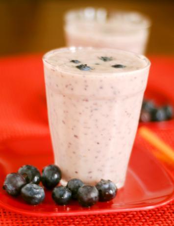 Blueberry Blast Breakfast Smoothie