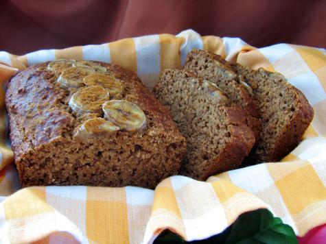 Low-Fat, High-Fiber Yummy Banana Bread