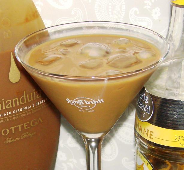 Chocolate Banana Martini