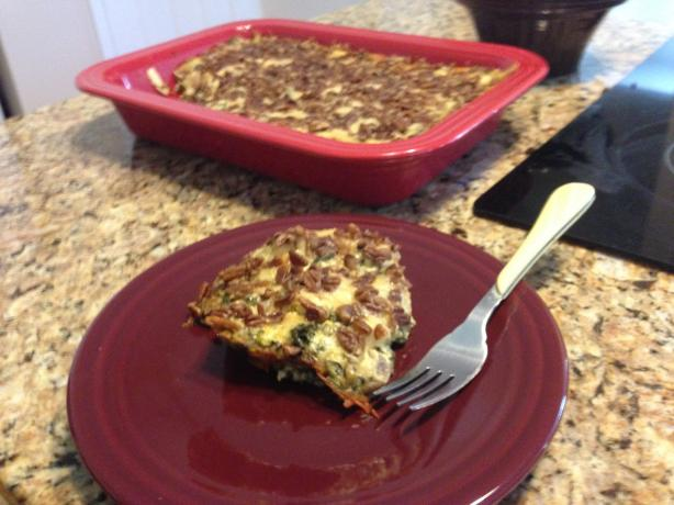 Chicken Spinach Lasagna Casserole