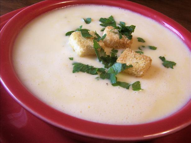 Cheddar Potato Soup