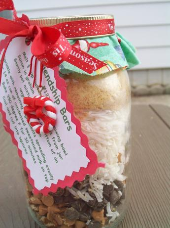 Friendship Bars in a Jar