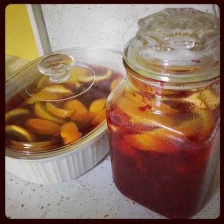 Cranberry-Orange Vodka