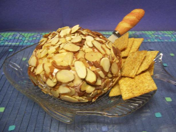 Pineapple Cherry Cheese Ball