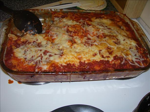 Made-Over Lasagna
