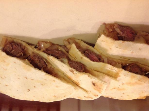 Steak Teriyaki Quesadillas