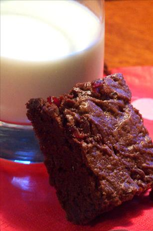 Chocolate Cherry Merlot Brownies