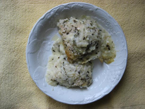 Baked Chicken With Lemon and Herbs
