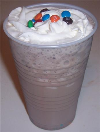 M&m's Brain Freezer Shake