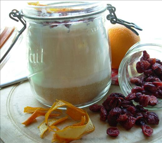 Cranberry Orange Cookies - Jar Mix