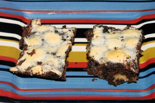 One Pan No Bowl Rocky Road Bars