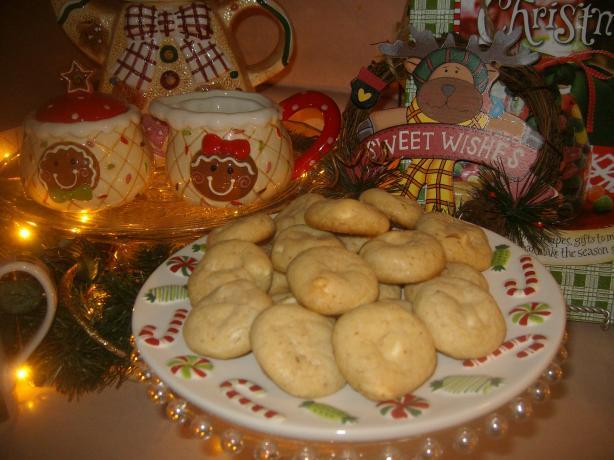 Orange Vanilla Chip Cookies