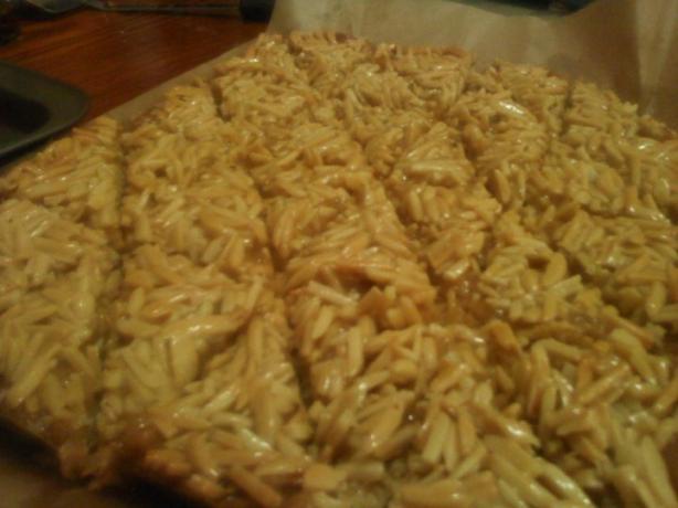 Almond Caramel Shortbreads