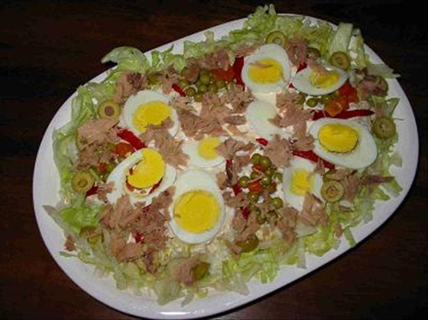 Delicious Garlic and Tuna Potato Salad