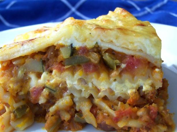 Pumpkin & Lentil Lasagna