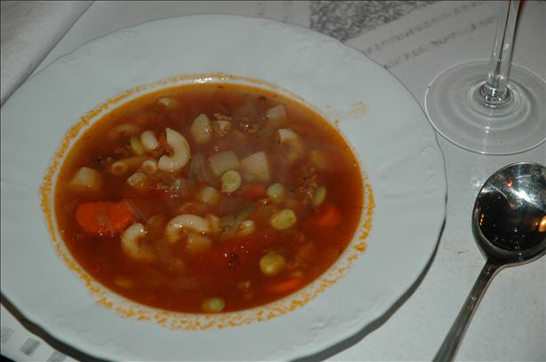 Maxine's Hamburger Soup
