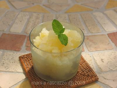 Italian Granita Lemon Ice Cream