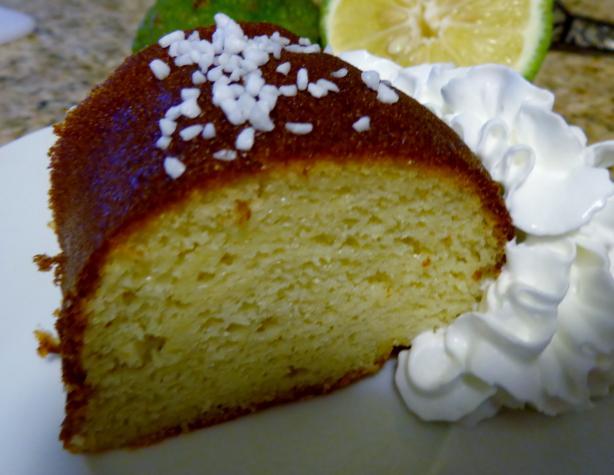 Lemon Yeast Cake from King Arthur