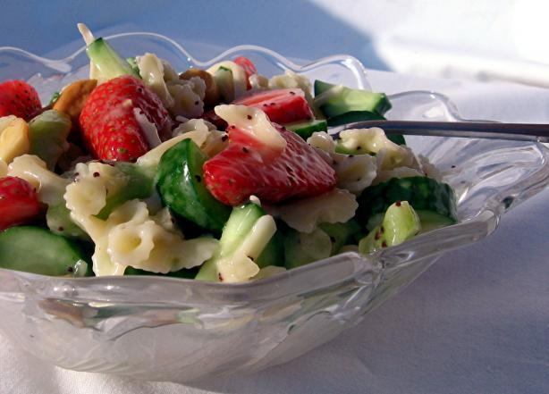 Poppy Seed Pasta Salad
