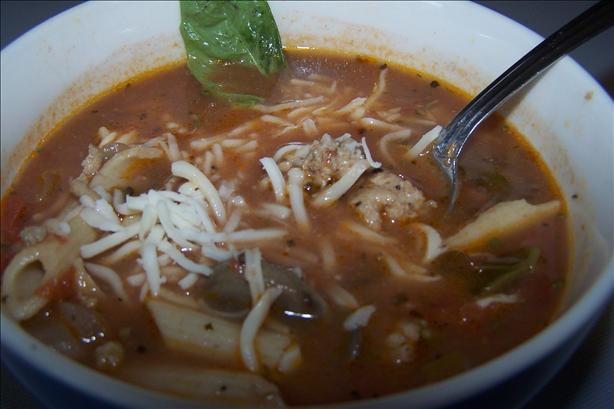 Chicken Tomato Basil Soup