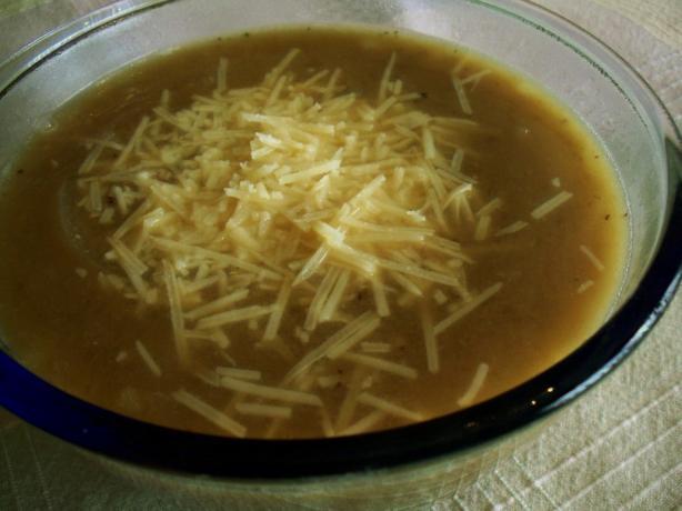 "Beef ""N"" Onion Soup"