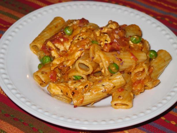 Spicy Chicken Rigatoni