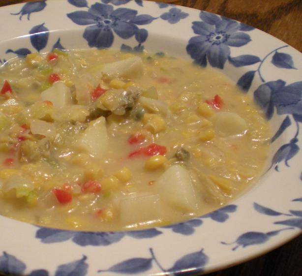 Creamy Clam Corn Chowder