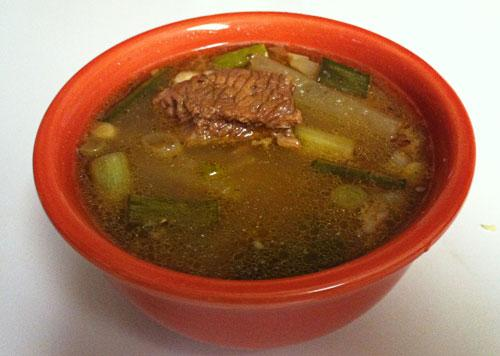 Gomtang (Korean Beef Soup)