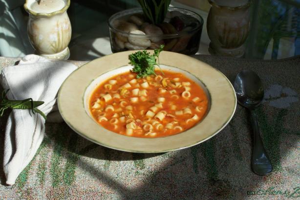 Pasta E Vognole (Pasta & Clam Soup)
