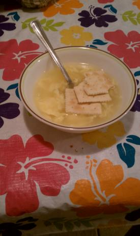 Egg Drop Soup W/ Hot and Sour Variation