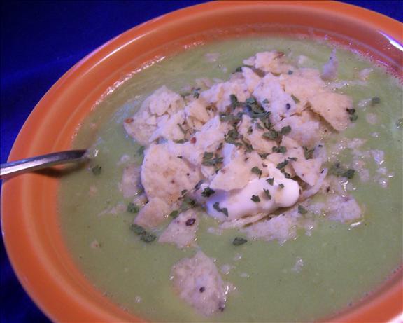 Avocado Soup (Sopa De Aguacate)