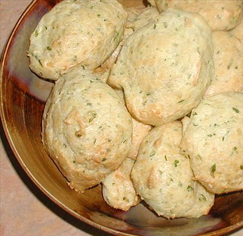 Buttery Basil Parmesan Puffs