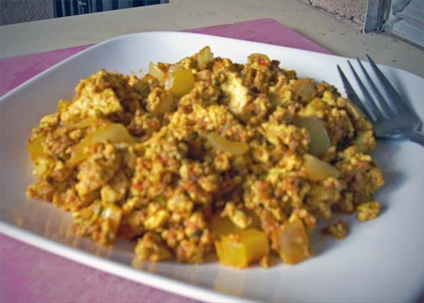 Tofu Scramble With Soyrizo