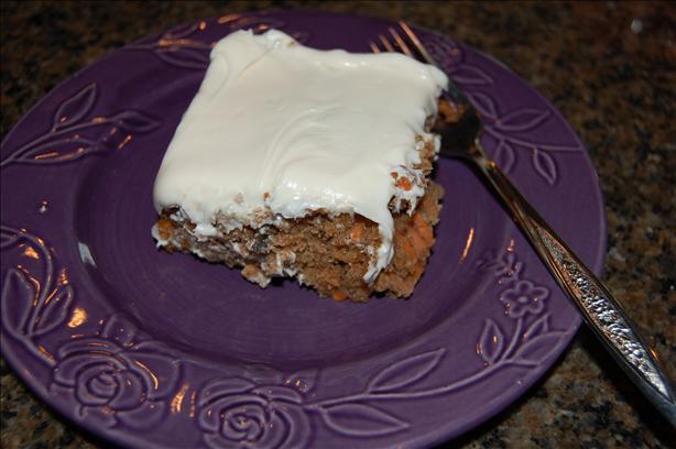 Sarah's Carrot Cake