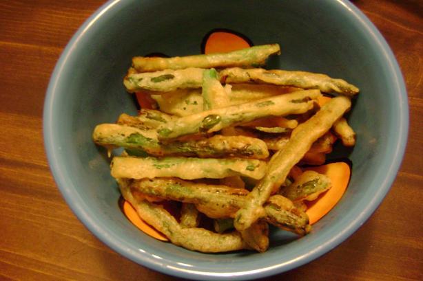 Fried Green Beans - the Neelys