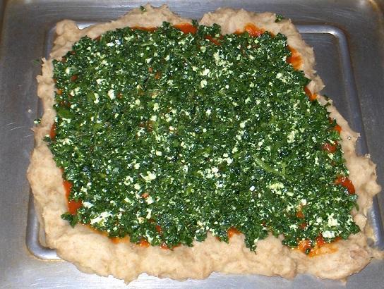 Spinach Feta Pizza II