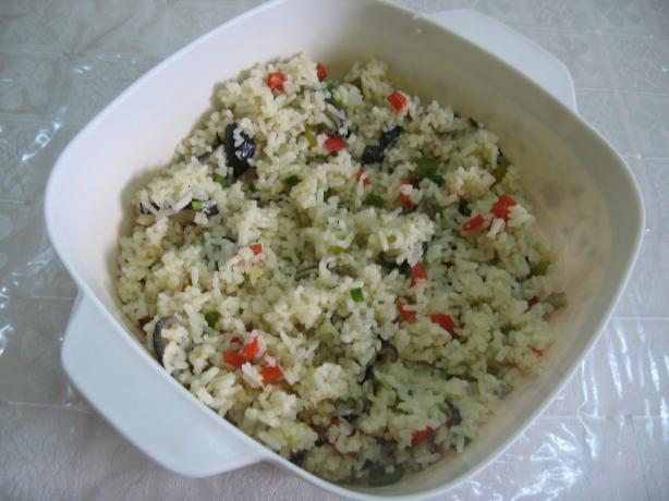 Shiitake-And-Sweet Pepper Fried Rice