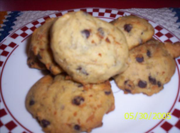 The Monkey Made Me Make 'em! (banana Ch.chip Cookies)