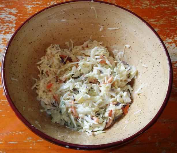 Creole Pineapple Coleslaw