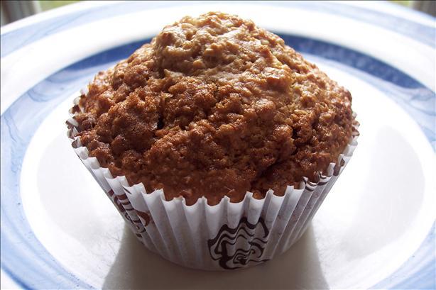 Lighter, but Scrumptious Oatmeal Raisin Muffins :)