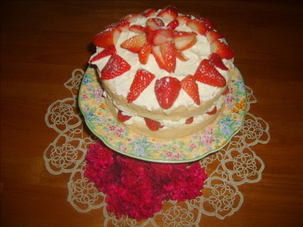 Whipping Cream Sponge Cake