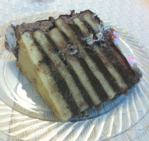 Traditional 8 Layer Doberge Cake