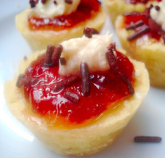 Shortbread Fruit Tartlets