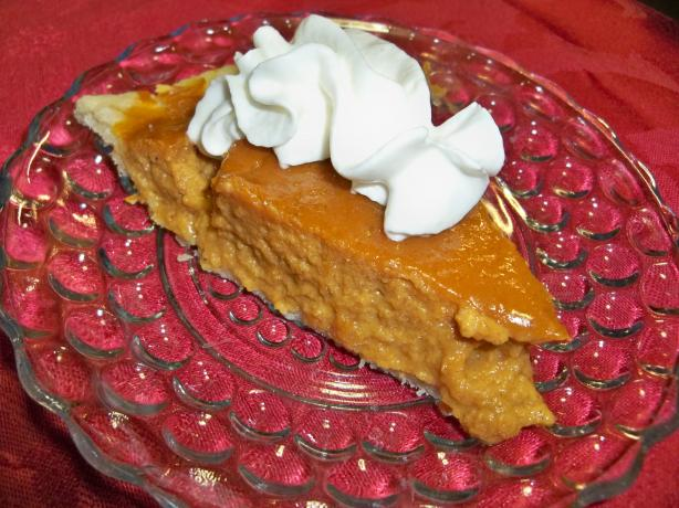 Vermont Maple Pumpkin Pie