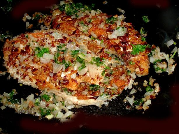 Pecan and Panko Crusted Chicken Breasts