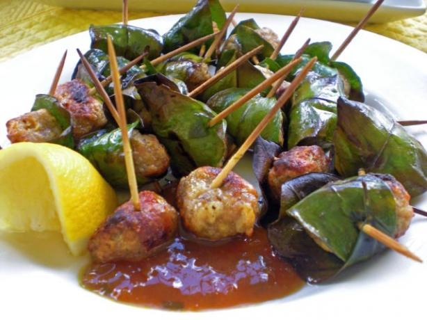 Polpettine Alla Griglia (Sicilian Lemon Grilled Meatballs)