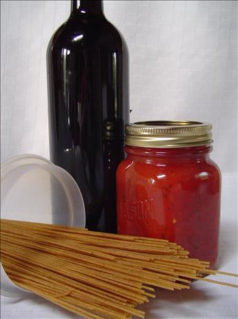 Basic Tomato-Basil Sauce