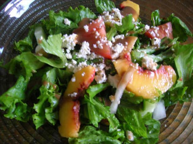 Peach/Green Salad