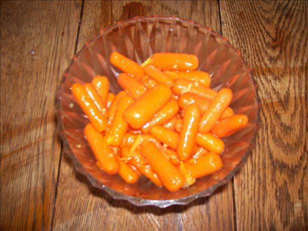 Orange Glazed Carrots