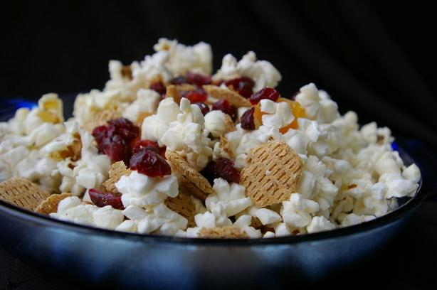 Popcorn Snack Mix (No Nuts)